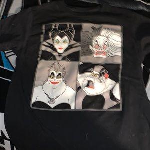 Graphics tee Disney villains . From Disneyland